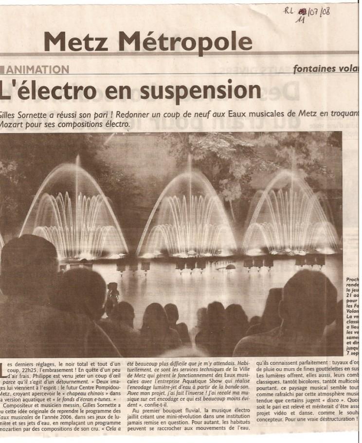 Fontaines Volantes - RL
